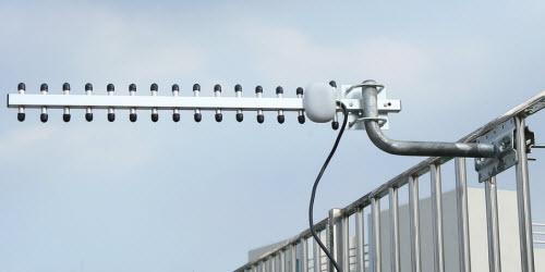 installed 4g yagi antenna